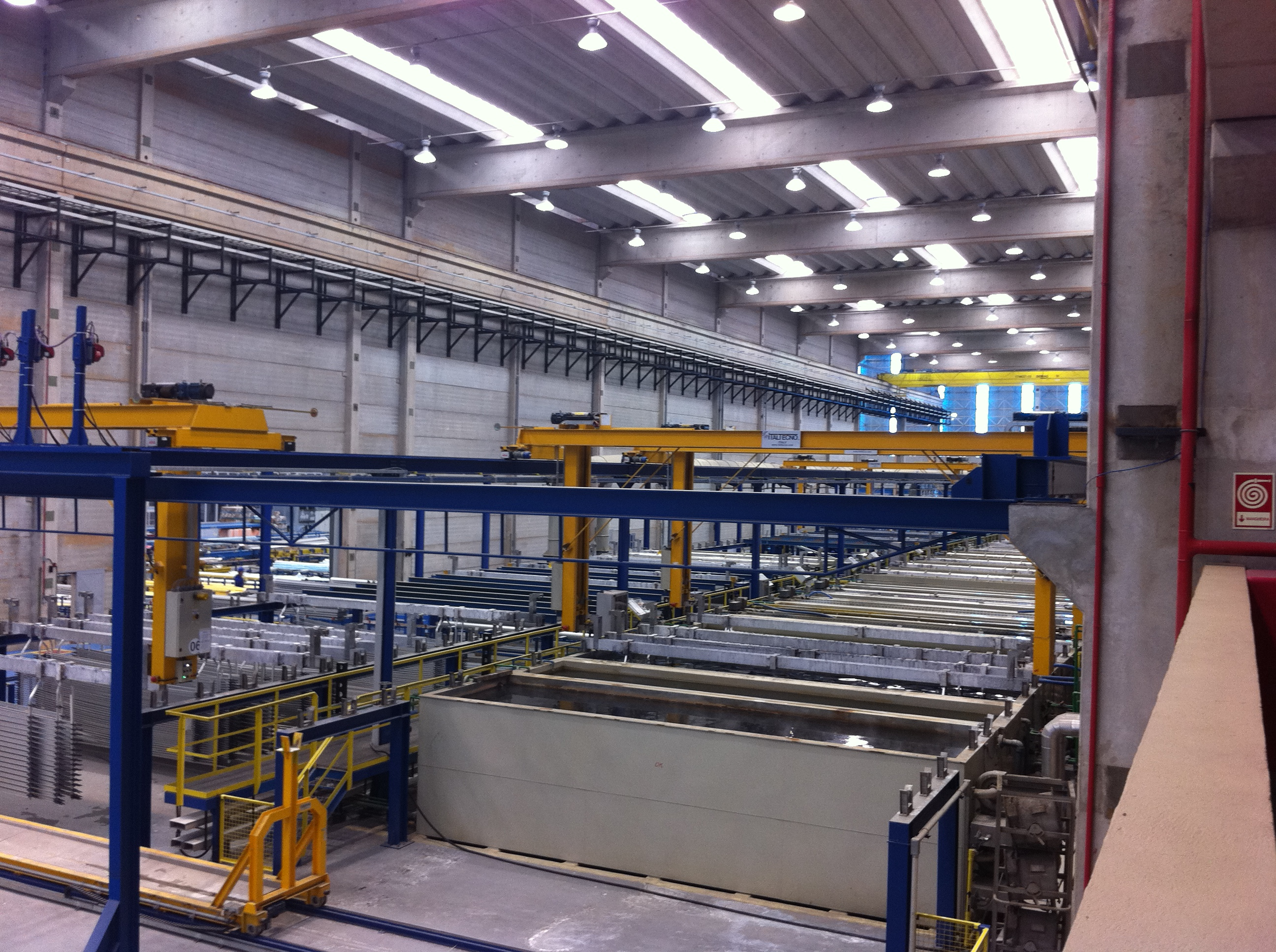 Horizontal or Vertical Anodizing Plants