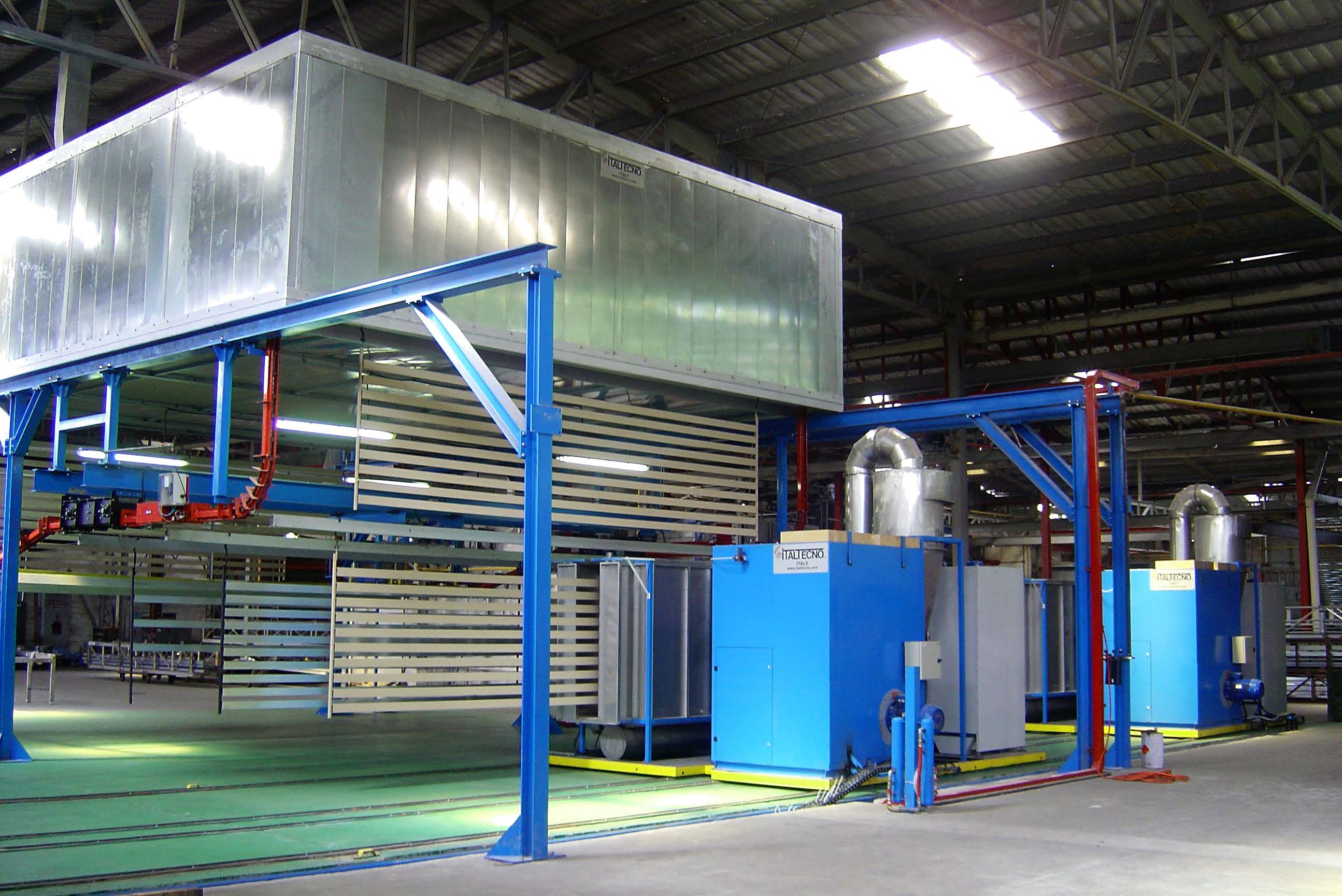 Compact Powder Coating Plants