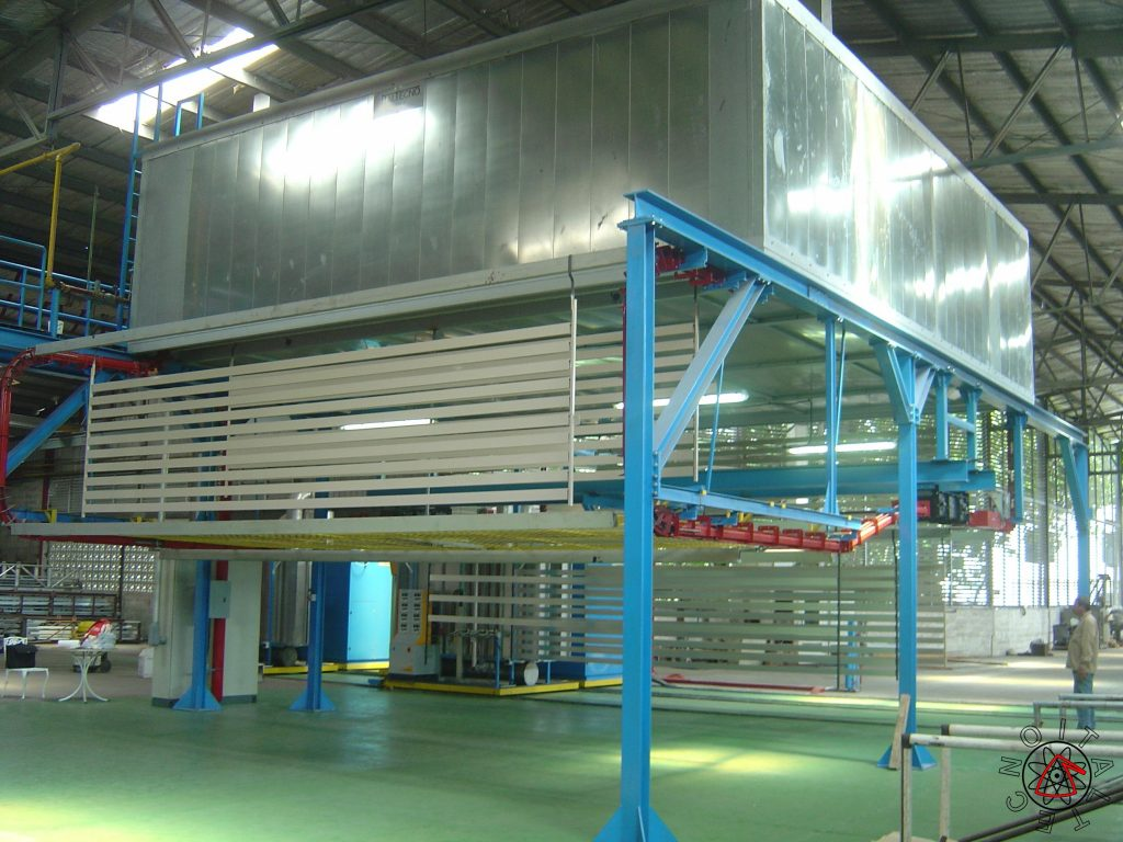Maxi Compact Powder Coating Plant 2