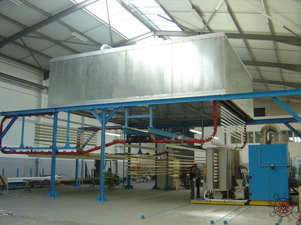 Maxi Compact Powder Coating Plant