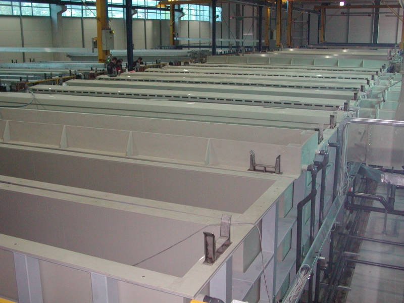 Polypropylene Process Tanks