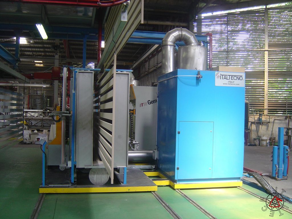 Powder Booth Compact Plant