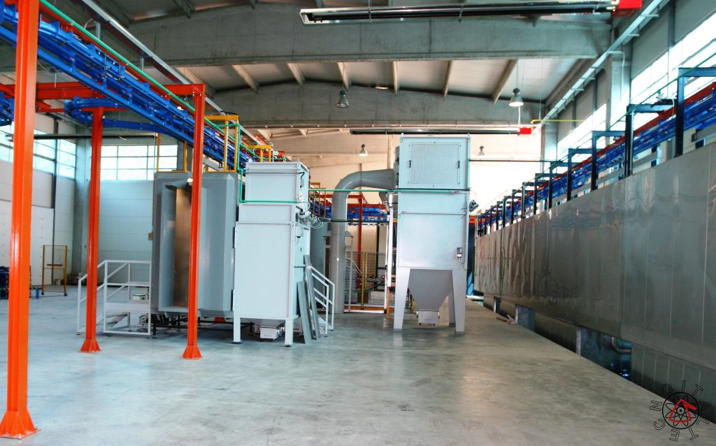 Tunnel Pretreatment And Powder Coating Plant